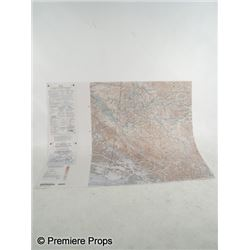 Resident Evil: Afterlife Alice (Milla Jovovich) Map Movie Props