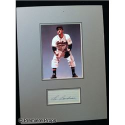 Lou Boudreau Signed Photo
