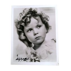 Shirley Temple Black Signed Photo (1986)