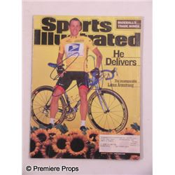 Lance Armstrong Signed Sports Illustrated