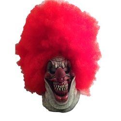 Hell Fest (2018) Carrot Top Clown Screen Worn SFX Mask Movie Props