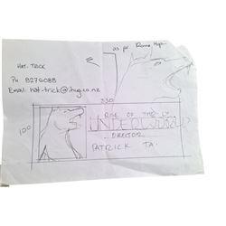 Underworld Title Art, Sketches Movie Memorabilia