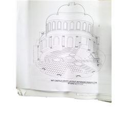 Underworld Illustrations & Construction Plans Movie Memorabilia