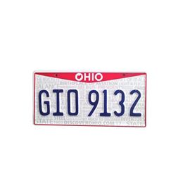 Father Figures Peter (Ed Helms) License Plates Movie Props