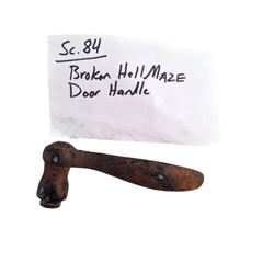 Hell Fest (2018) Screen Used Hell Maze Door Handle Movie Props