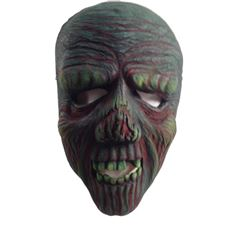Hell Fest (2018) Zombie Neon Screen Worn SFX Mask Movie Props