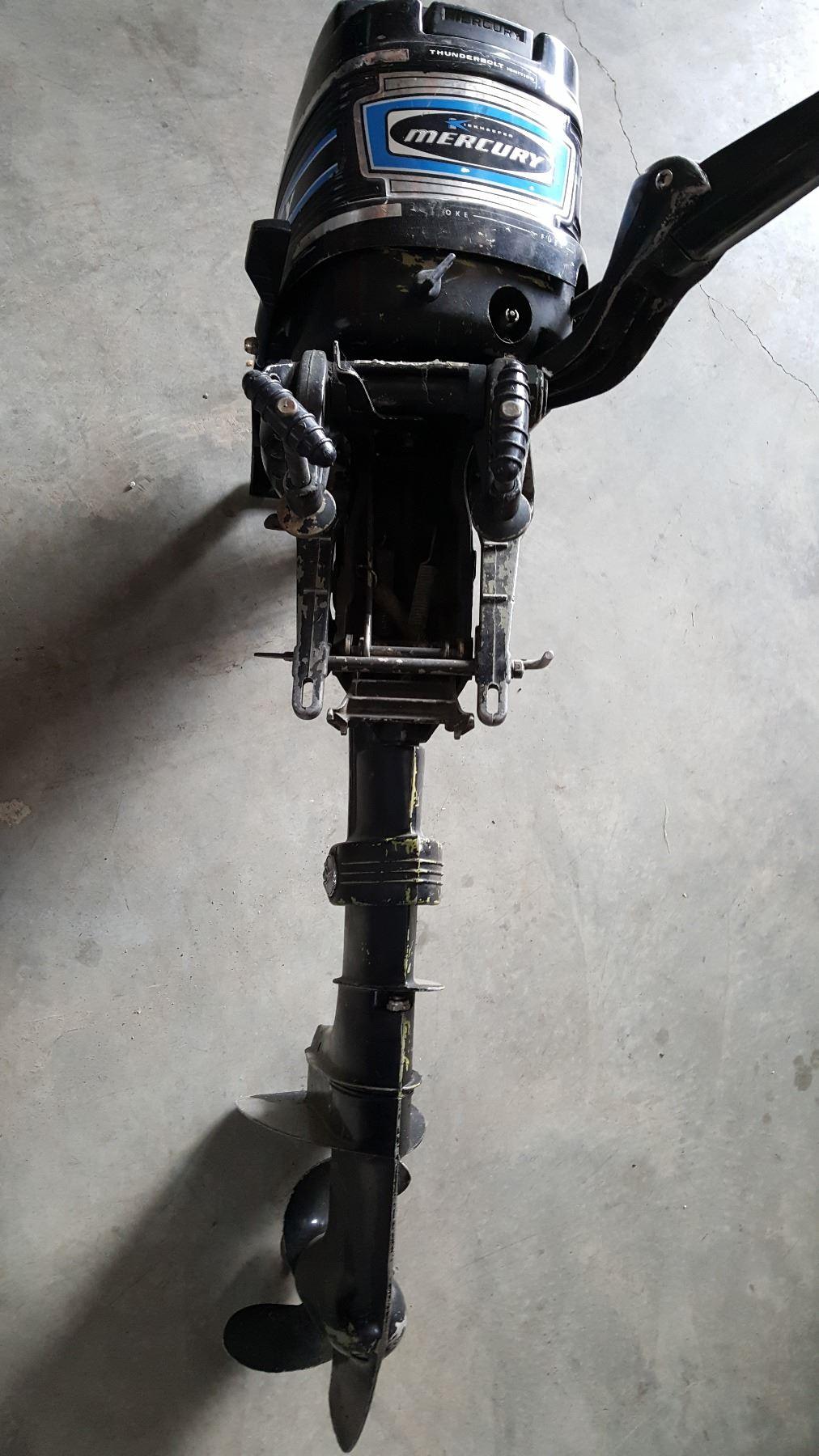 MERCURY OUTBOARD MOTOR 4HP