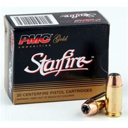 100 Hollow Pt: PMC 45ACP Ammunition Gold PMC45SFA 230 Grain Starfire Jacketed Hollow Point