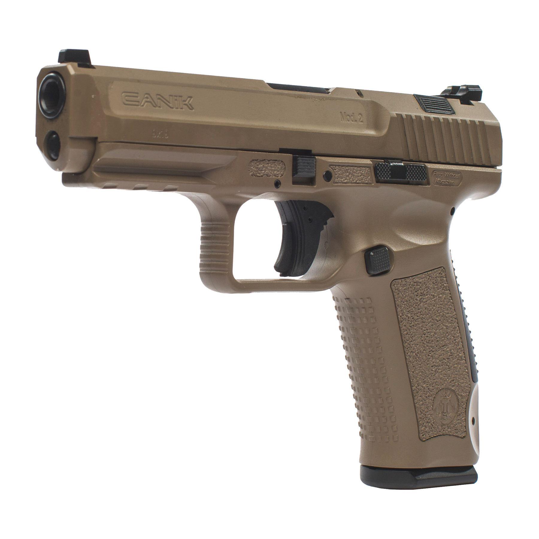 18 Shot, CANIK, TP9SA MOD 2, Striker Fired, 9MM, 4 47