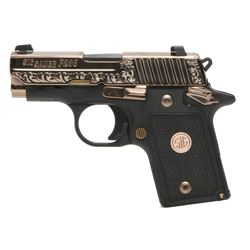 Sig Sauer, P238, Rose Gold,  Pistol, Single Action, Compact, 380ACP, NEW IN BOX, 238-380-ERG
