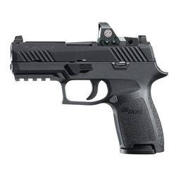 "Romeo 1 Incl: Sig Sauer, P320 Compact, Striker Fired, 9MM, 3.9"" Barrel, 15 Shot, 320C-9-B-RX"