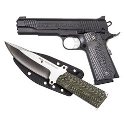 Magnum Research, 1911G, Semi-automatic, Full Size, 45ACP, with Knife, NEW, DE1911G-K