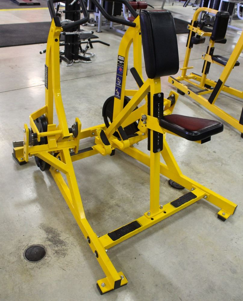 HAMMER STRENGTH LATERAL ROW - 90LB OF WEIGHT