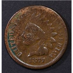 1877 INDIAN CENT VG+