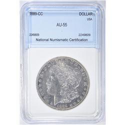 1889-CC MORGAN DOLLAR NNC AU BU