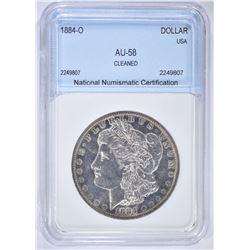 1884-O MORGAN DOLLAR NNC AU BU