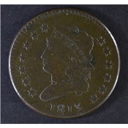 1813 LARGE CENT  XF