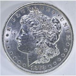 1878 REV 79 MORGAN DOLLAR  CH BU