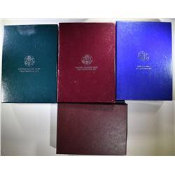 PRESTIGE SETS 1984, 1986, 1988, 1990