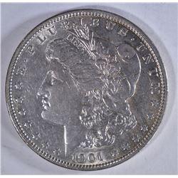 1901 MORGAN DOLLAR  XF-AU