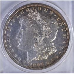 1896 MORGAN DOLLAR  CH BU PL
