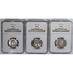3 NGC WASHINGTON QUARTERS: