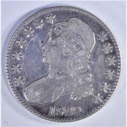1829 BUST HALF DOLLAR  F-VF