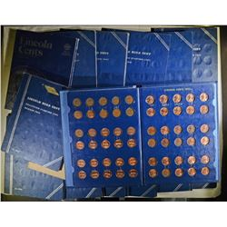HUGE PENNY LOT-- 1909-1940 PARTIAL SETS,