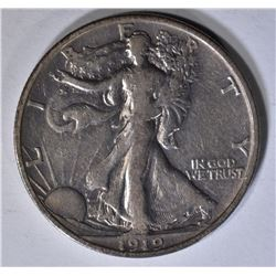 1919-S WALKING LIBERTY HALF DOLLAR XF RARE