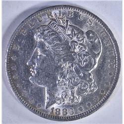1883-O MORGAN DOLLAR AU/BU