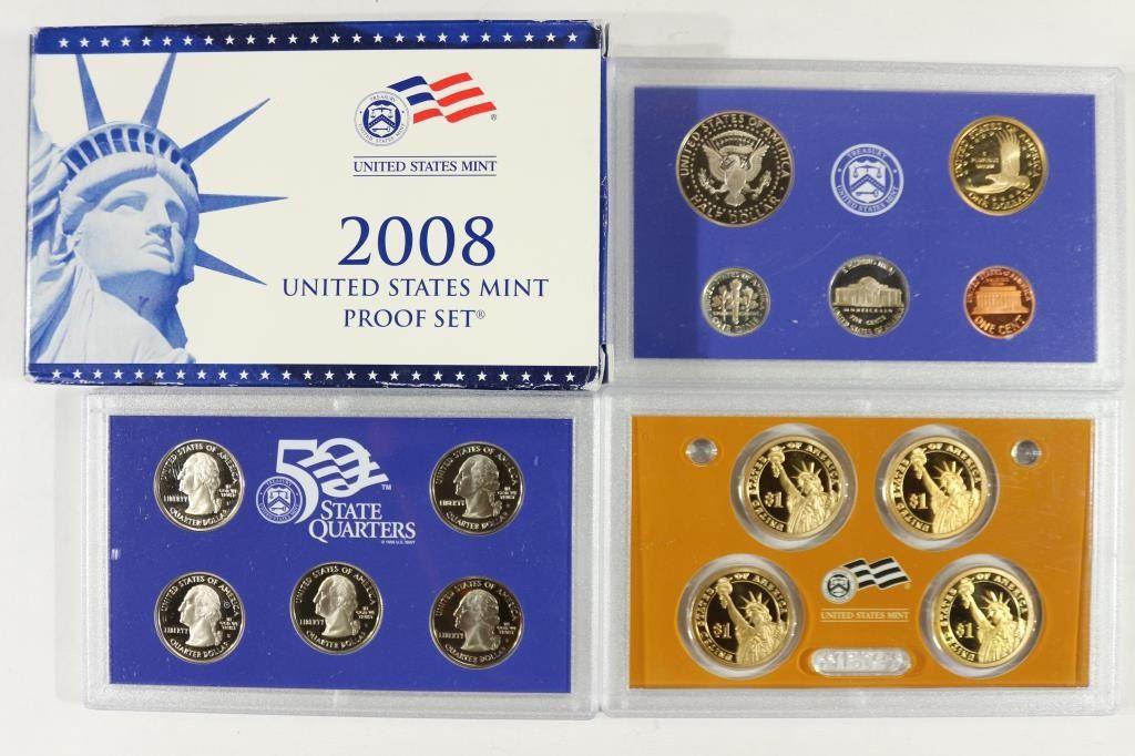 2008 United States 14-piece Proof Set