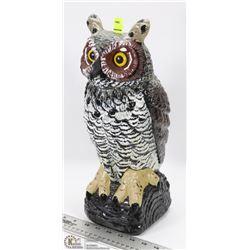 OWL SHAPE LAWN ORNAMENT