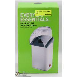 EVERYDAY ESSENTIALS 8-CUP HOT AIR POPCORN MAKER