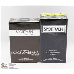 2 BOTTLE OF SPORTSMAN VERSION OF DOLCE GABBANA