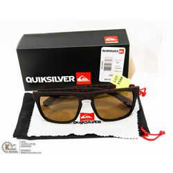 PAIR OF NEW QUICKSILVER SUNGLASSES W/RETAIL BOX