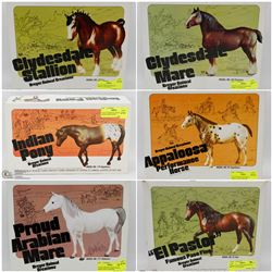 FEATURED ITEMS: VINTAGE HAND PAINTED HORSES!