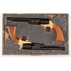 Cased Set Colt Civil War Centennial .22 Revolvers
