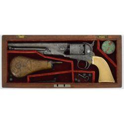 Factory Engraved Colt 1861 Navy Revolver