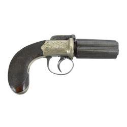 British Six Shot Pepperbox Revolver