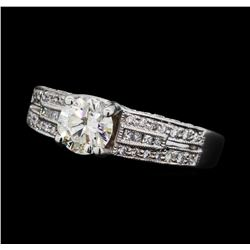1.20 ctw Diamond Ring -  Platinum