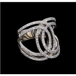1.26 ctw Diamond Ring - 14KT White Gold