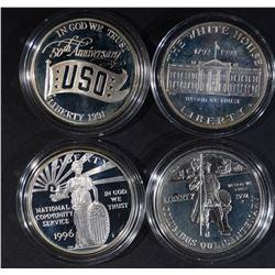 1996-S COMMUNITY SERVICE, 1991-S USO,