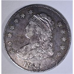 1825 CAPPED BUST QUARTER  XF