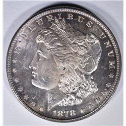 1878 7/8F MORGAN DOLLAR  GEM BU+  PL