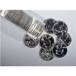MIXED DATE ROLL OF SILVER PROOF QUARTERS