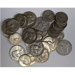 $10 FACE VALUE 90% SILVER MIX