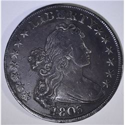 1803 DRAPED BUST DOLLAR  XF