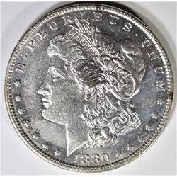 1880-O MORGAN SILVER DOLLAR CH BU