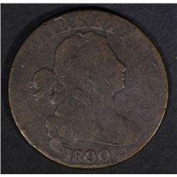 1800/79 DRAPED BUST LARGE CENT  VG/FINE