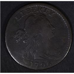 1796 DRAPED BUST LARGE CENT  VF